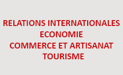 Relations Internationales - Economie - Commerce et Artisanat - Tourisme