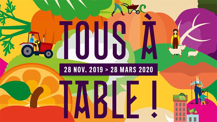 Tous A Table Ville De Lyon