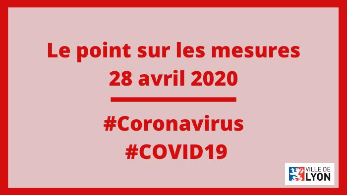 Covid 19 Le Point Sur Les Mesures Ville De Lyon