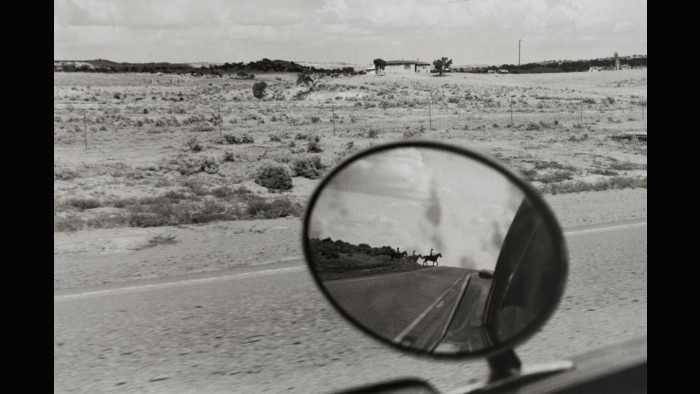 Bernard Plossu. New mexico, 1978, Route 666