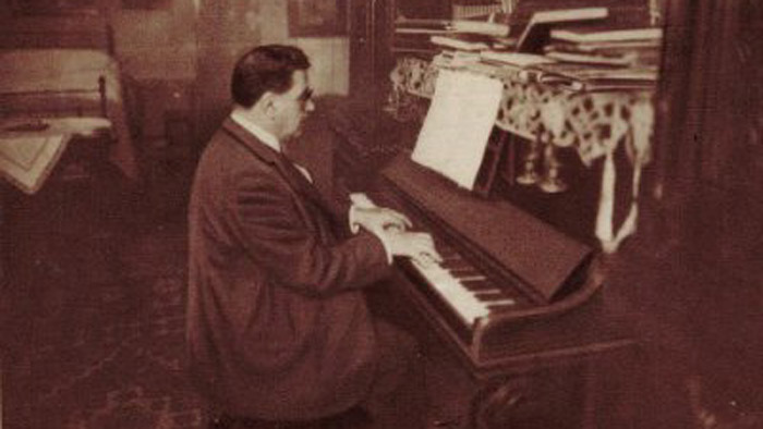 Airs du temps : Edouard Herriot au piano