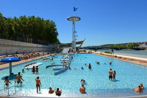 Centre Nautique Tony Bertrand Ex Piscine Du Rhone Ville De Lyon