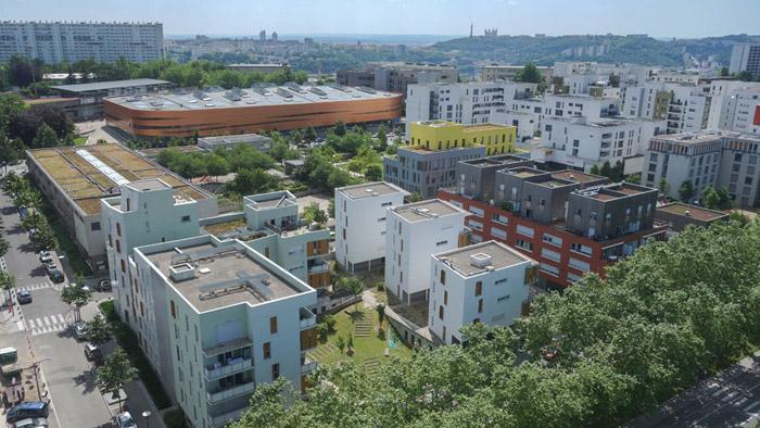 Quartiers nouveaux espaces ville de lyon