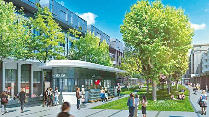 Projets urbains ville de lyon