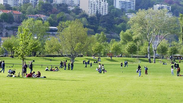 Parc De Gerland Ville De Lyon