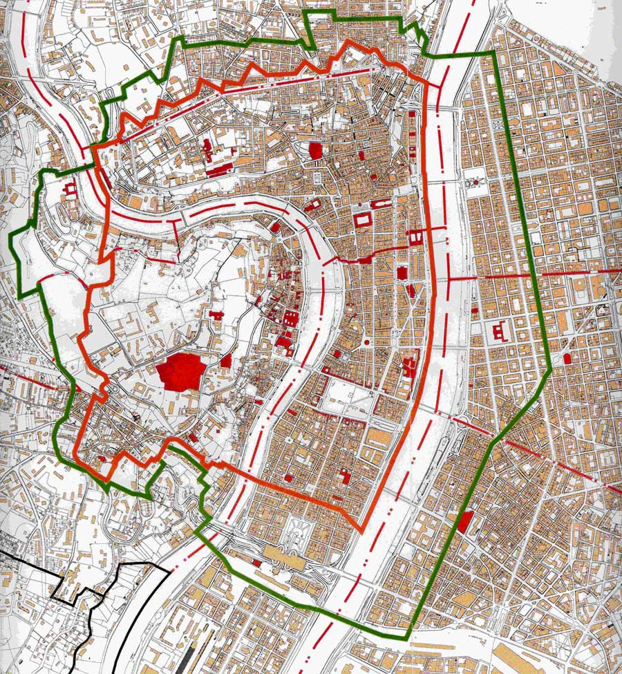 Carte Bordeaux Unesco.Le Perimetre Unesco Ville De Lyon