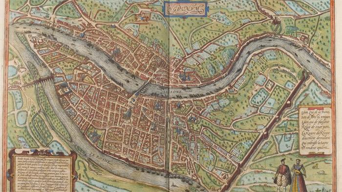 Lyon Carte D Identite Ville De Lyon