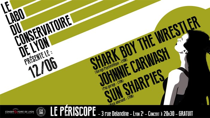 Le Labo du Conso : SunSharpies + Shark Boy The Wrestler + Johnnie Carwash