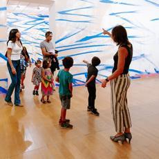 Vacances de Noël Biennale art contemporain