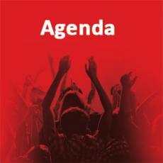Visuel agenda carré rouge